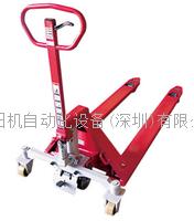 中国总代理BISHAMON毘沙门叉车 重载荷手动拖板搬运车BM50L7 BM50L7