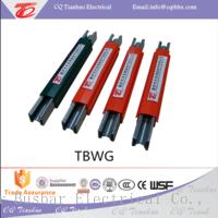TBWG single pole safety galvanized steel 60A100A 125A 160A conductor busbar  TBWG