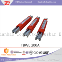 TBWL power supply long life aluminum 160A-500A electric busbar  TBWL
