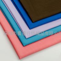 香港直销 现货供应 全工艺T/C110*76平纹布 涤棉里布 箱包衬衫里布