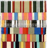 【量大价优】厂家直销10安全棉印條子帆布 包包抱枕桌布條子布 厂家直销10安全棉印條子帆布  包包抱枕桌布條子布