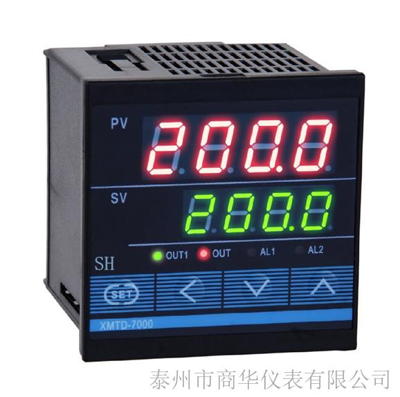 仪表为双排四位数码管显示,分别显示测量值和设定值;仪表外观紧凑,节省空间;四键操作,参数设置简易,使用操作方便。输入信号多种可选;控制方式有位式控制、PID控制;采用超强抗干扰芯片设计,质量可靠、性价比极高。 紧凑型仪表 专家PID控制算法辽林商华 智能温控仪XMTG-7000/7511/7512 数显温控表/温控器 自整定功能 误差修正 多种报警方式 手动/自动切换 仪表选型辽林商华 智能温控仪XMTG-7000/7511/7512 数显温控表/温控器 XMT-7