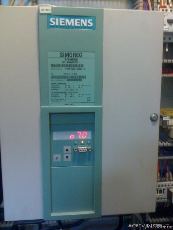 西门子6RA70变频器报F005故障维修