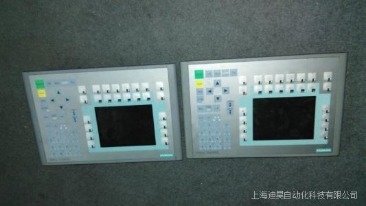 西门子触摸屏开机白屏原因及维修检测