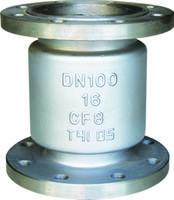 不銹鋼立式止回閥H42W-16P H42W-16P