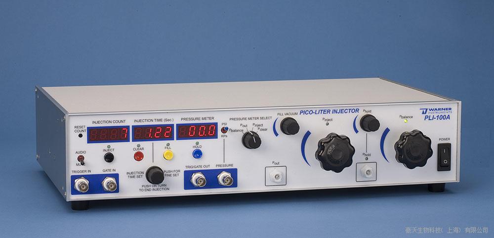 Warner Instruments 美国华纳仪器微量皮升注射泵PLI 100A
