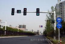 悬臂式八棱红绿灯杆