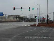 L型八棱信号灯杆