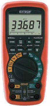 EXTECH EX542工业级高精度真有效值万用表(带无线传输) EXTECH