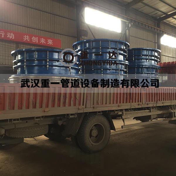 武汉泵站配套DN1600双法兰限位伸缩接头及配套法兰发货
