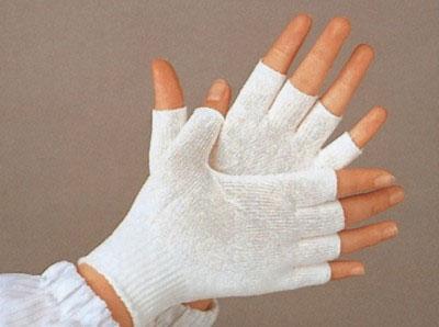半指纱手套