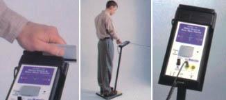 人体综合测试仪配防静电门禁系统