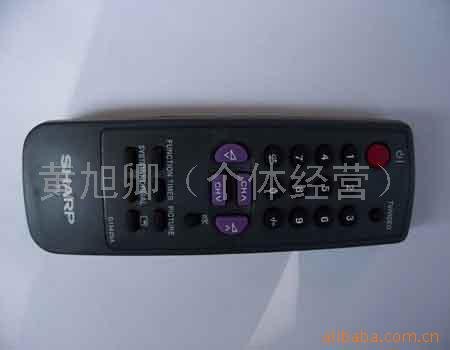 夏普电视机遥控器