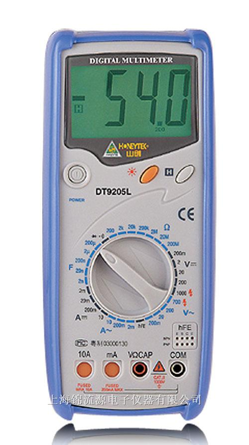 dt9205l标准机械保护数字万用表 dt9205l