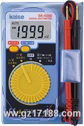 卡片式数字万用表 SK-6500