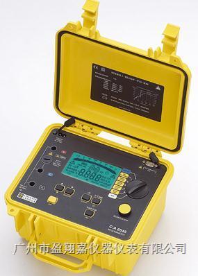 5kV绝缘电阻测试仪CA6545