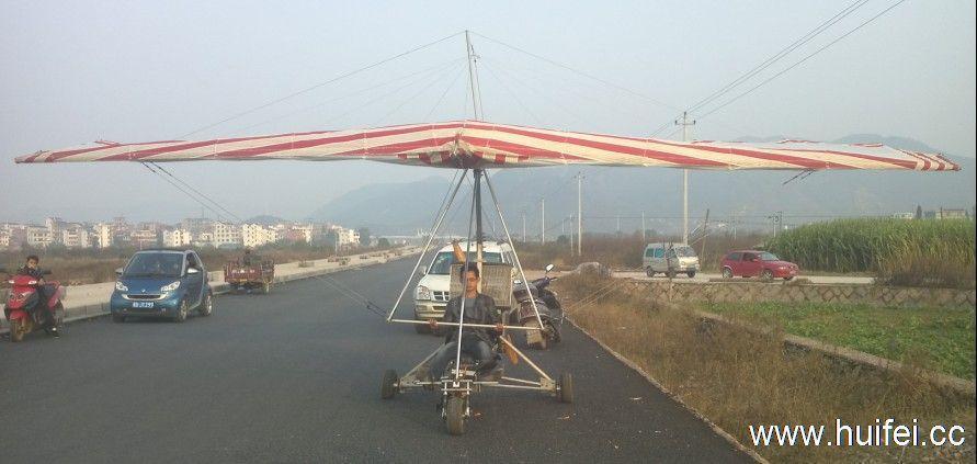 出售两座动力三角翼小型飞机