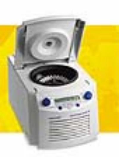 5415r小型高速离心机(冷冻型) 5415r(冷冻型)