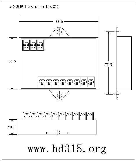 智能单相可控硅移相触发器/调压器 m259631