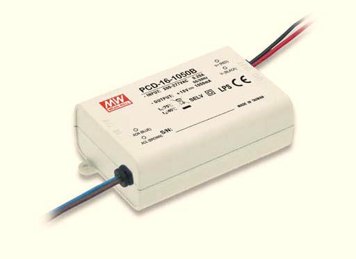 pcd-16 16w 单路定电流输出防水塑壳调光型明纬led电源 pcd-16-350[ ]