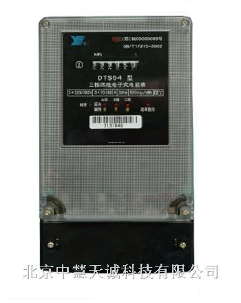 dts633电能表接互感器接线图