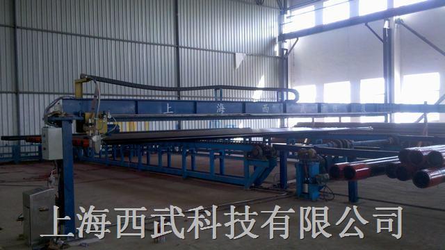 钢管测长称重喷标设备