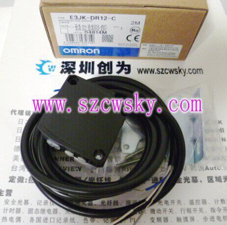 日本欧姆龙e3jk-dr12-c光电传感器
