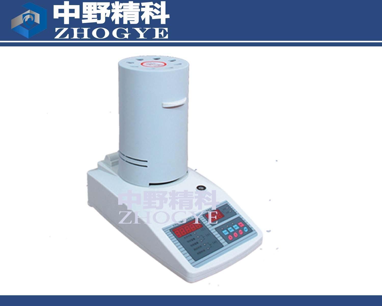 HTS-SFY20红外线水分测试仪、纸张、纸浆快速水分测定仪它具有温度设定和控制等功能。采用目前国际通用的干燥失重法原理研制而成的新一代快速水分测定仪器。它采用进口精密称重系统称量取样,采用辐射源快速干燥样品,在测量样品重量的同时,加热单元和水分蒸发通道快速干燥样品,在干燥过程中,水分仪持续测量并即时显示样品丢失的水分含量%,干燥程序完成后,最终测定的水分含量值被锁定显示,直接计算干燥前后样品质量的变化来求取含水率。与国际烘箱加热法相比,可以最短时间内达到最大加热功率,在高温下样品快速**燥,其检测结果与