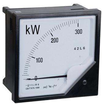 功率表_42l6-kw 单相/三相功率表 120*120 42l6-kw