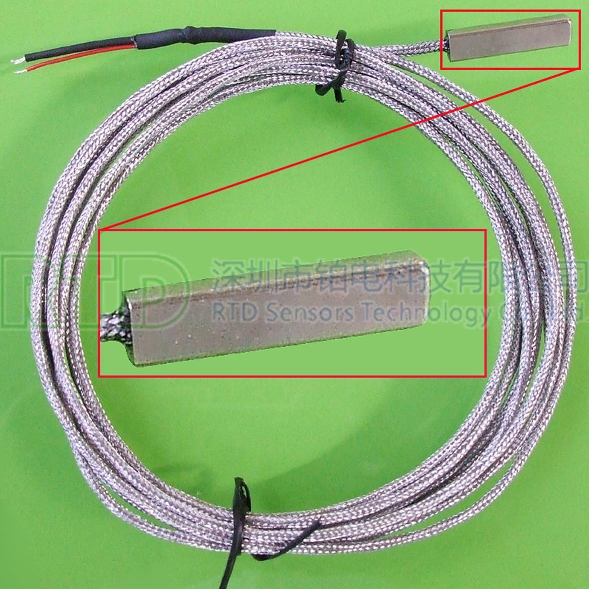 表面测温PT100温度传感器2