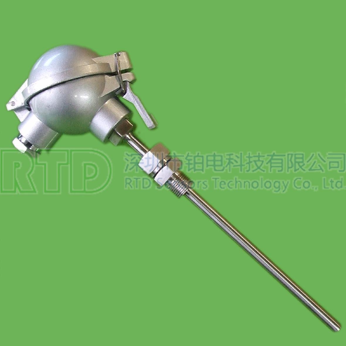 铠装PT1000铂电阻(活动螺纹式)