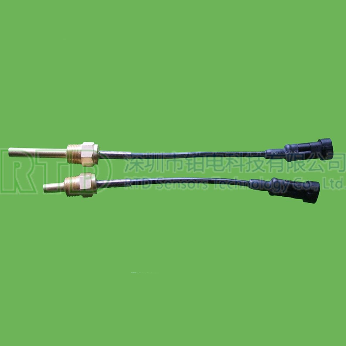 汽车水/油温温度传感器PT100铂电阻