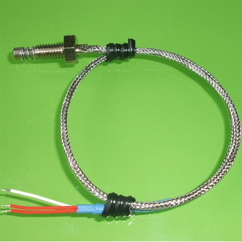 Extruder PT100 RTD Probes With Compression Fittings