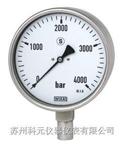 德国威卡232.50波登管压力表