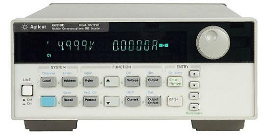 66319d双路输出移动通信直流电源同时提供测量的主电源和充电器电路