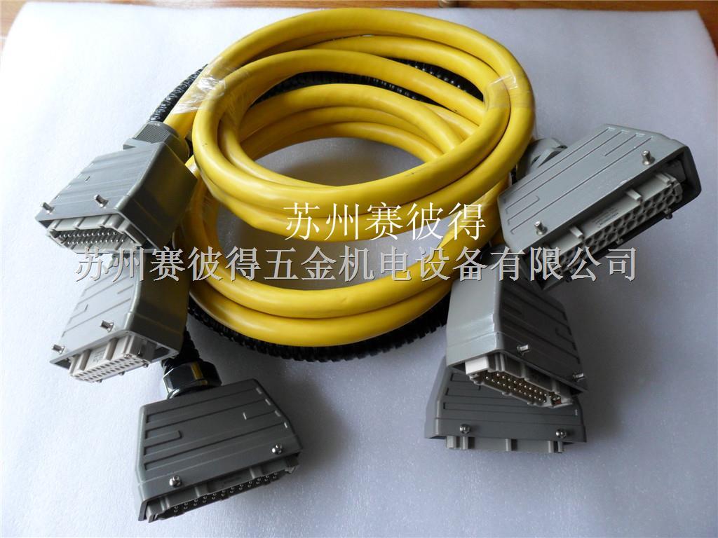 温控箱专用16针/24针连接线,模具热流道专用连接器,重载连接器