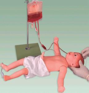 上等嬰兒全身靜脈穿刺模型