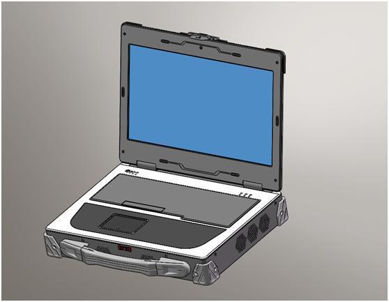 天拓新品TMPC-W15PS高强度铝镁合金便携机