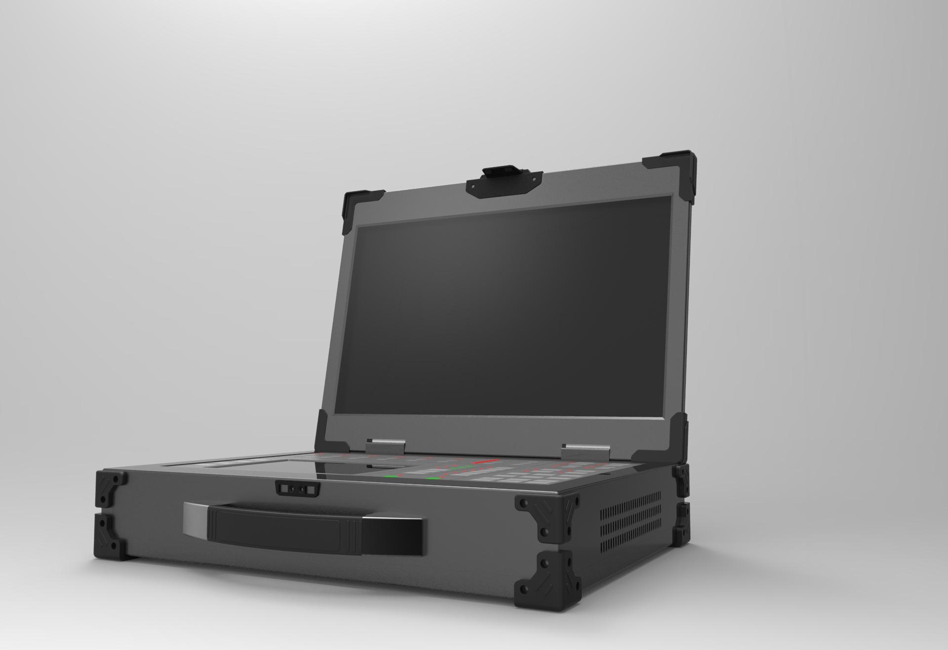 天拓BXJ-2516      2.5U高度便携式一体化结构,加强铝材机身
