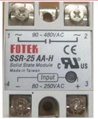 台灣陽明SSR-25AA-H固態繼電器 SSR-25AA-H