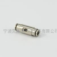 寧波AG亚游集团高壓霧化直通單噴全銅快插接頭 AJPU1/4-10-24UNC