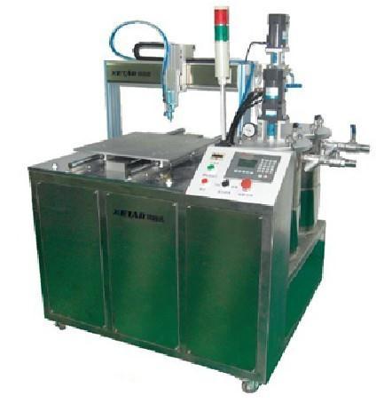 Automatic encapsulating compound machine