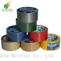 Shenzhen Bull duct tape cloth colorful tape for sealing carton  Bull-1601