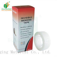 SHENZHEN  bull milk-white tape bopp invisible tape