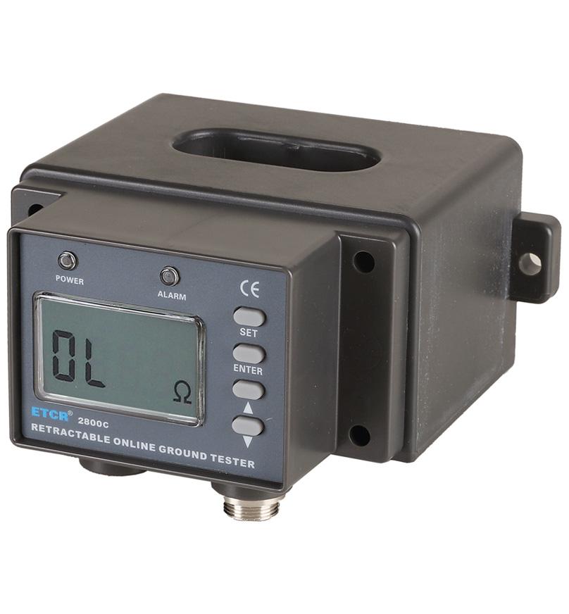 ETCR2800C多功能非接触式接地电阻在线检测仪