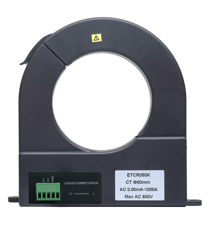 ETCR080K开合式漏电流传感器