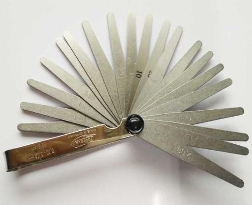 现货德国Phoenix凤凰厚薄规25410002厚薄片0.05-1.0mm共13片塞尺